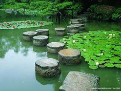 kyoto zen water gardens - Google Search