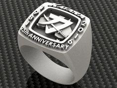 SUZUKI KATANA 35th anniversary ring design