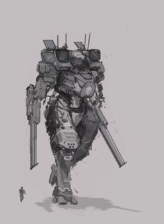 Tin Soldiers mech by Kwibl.deviantart.com on @DeviantArt