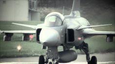 Gripen flight demonstration at Axalp