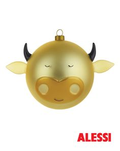 Bue - christmas bauble, LPWK and Marcello Jori, 2012 #alessi #design #alessichristmas @alessiofficial