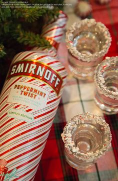 This holiday season try the Limited Edition Peppermint Twist. Serve it up as a chilled shot to give your guests a quick and easy drink, full of candy cane sweetness.