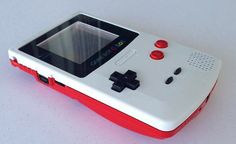Custom Frontlit Nintendo Gameboy Color for Retro Gaming in the dark or LSDJ Chiptune Prosound