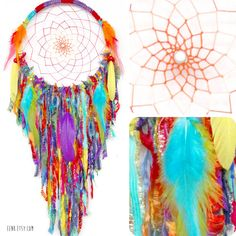 RESERVED FOR LOGAN // Gypsy Soul Large Native Style Woven Dreamcatcher