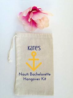 Our handmade favor bags are perfect for your guests at your bachelorette party as a way of saying thank you! Our favor bags are made from 100% muslin