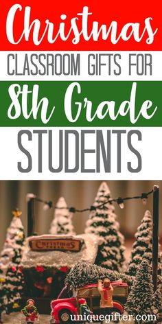 Christmas Classroom Gifts For 8th Grade Students | 8th Grader Gifts | Gift Exchange | Kids Gifts | Gifts For Teens | #gifts #giftguide #teens #8thgrader #presents #uniquegifter
