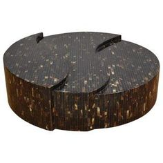 Tessellated Horn Coffee Table