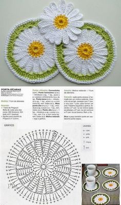 Crochet pansy flower by auntie cosmos salvabrani Crochet Leaves, Crochet Circles, Crochet Mandala, Crochet Flower Patterns, Crochet Stitches Patterns, Thread Crochet, Crochet Designs, Crochet Doilies, Crochet Flowers