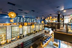 #taphuys #dehorecafabriek #tilburg #reinrambaldo #beer #cafe #bardesign