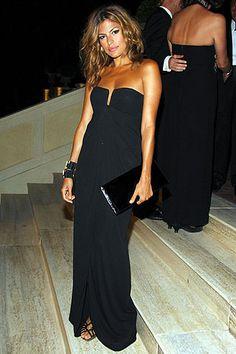 Eva Mendes Photos Valentino's 45th Anniversary in Rome on Style.com