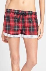 PJ Salvage 'Opposites Attract' Plaid Shorts available at Cool Gifts For Teens, Opposites Attract, Polka Dot Shorts, Plaid Shorts, Pj, Lounge Wear, Gym Shorts Womens, Nordstrom, My Style