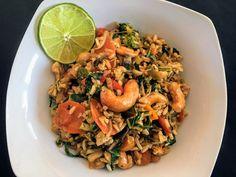 Spicy veggie fried rice