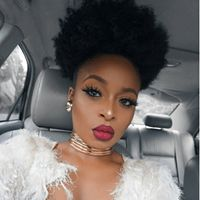 Pretty Puffection IG:@ronkeraji #naturalhairmag #naturalhair