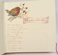 Libro del neonato dipinto a mano ad acquerello. http://www.papermoonmo.it/it/album/135-album-fotografici-rivestito-in-carta-con-chiusura-bottone.html
