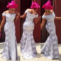 Hello ladies, Here are pins from some of the most exclusive design of African lace styles that are sure to keep your game on lock. Nigerian Lace Dress, Nigerian Dress Styles, Nigerian Outfits, Ankara Gown Styles, Kente Styles, African Lace Styles, African Lace Dresses, Latest African Fashion Dresses, African Print Fashion