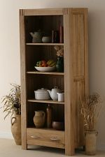 Alto Natural Solid Oak Bookcase
