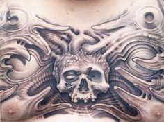 Tattoo Artist - Josh Duffy Tattoo | www.worldtattoogallery.com/chest_tattoos
