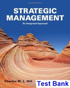 Retail management a strategic approach 11th edition strategic management an integrated approach 10th edition hill test bank test bank solutions manual fandeluxe Choice Image