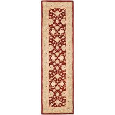 Anatolia Red/Moss (Red/Green) 2 ft. 3 in. x 8 ft. Runner