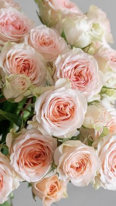Cheap Flowers, Love Flowers, Beautiful Flowers, Wedding Flowers, Peach Colored Roses, White And Pink Roses, Funeral Floral Arrangements, Wholesale Roses, Baby Shower Flowers