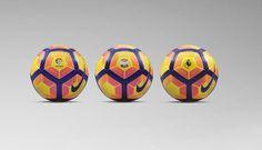 Nike presenta el diseño del balón de invierno de La Liga, la Serie A y la Premier League 2016/17