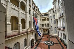 Cuban Flag, courtyard area of the Museum of the Revolution in Old Havana, Cuba by Mark  on 500px