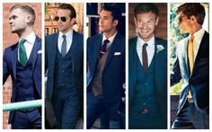The Complete Guide To Men S Shirt Tie And Suit Combinations Men S