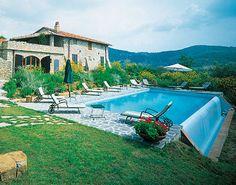 Tuscan villa with amazing pool