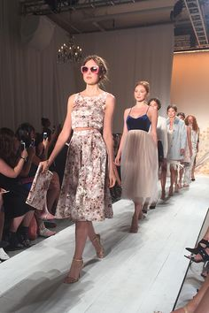 The LC Lauren Conrad runway show was a dream...