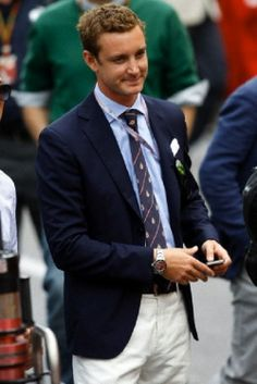 Pierre Casiraghi, Royal family at the Monaco Grand Prix on 25.05.2014