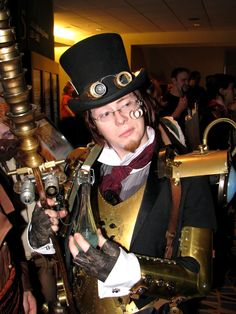 How about a little steampunk ala Jules Verne?