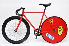 自転車サンプル計画 AKIRA : KANEDA BIKEの画像 | 自転車改造計画 : The Kustom Bike Project