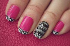 photo of pink piano Crazy Nails, Love Nails, How To Do Nails, Pretty Nails, I Want, Crazy Nail Designs, Toe Nail Designs, Glam Nails, Beauty Nails