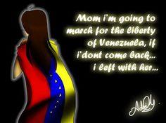 sos venezuela - Google Search.... Mama voy a ir a la marcha por la libertad de Venezuela . Si no vuelvo .... me fui con ella
