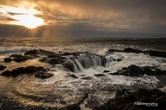 Thor's Well #2 by Mitch Schreiber on 500px