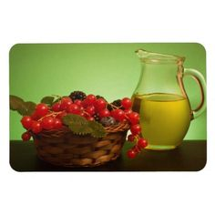 $8.95 A must in your kitchen! White Wine And Redcurrants Flexi Magnet