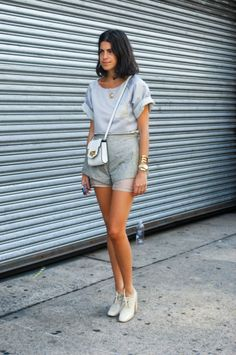 NYFW I totally LOVE -the Man Repeller-... she is always perfectly dressed and casually elegant. The greatest example of effortless chic