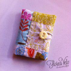 Tarjetero en telas de algodón :)