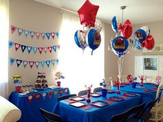 Spiderman Birthday Ideas   Spiderman birthday party   Party ideas   Pinterest