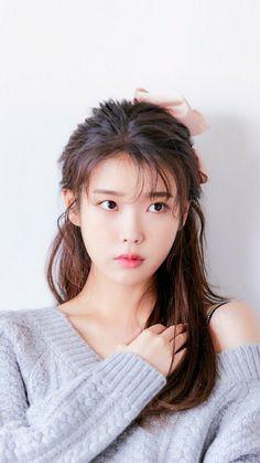 Pretty Korean Girls, Korean Beauty Girls, Cute Korean Girl, Asian Beauty, Iu Hair, Iu Fashion, Korean Actresses, Korean Celebrities, Ulzzang Girl