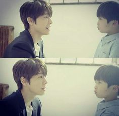 Adorable baby Hae and real baby