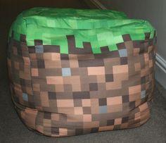 Minecraft Beanbag
