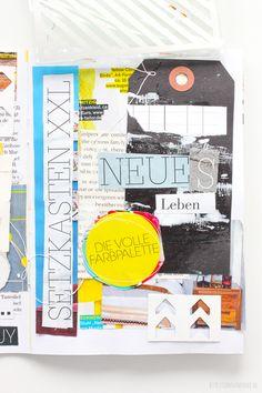 Visual Journal aus dem Buch Paper Art von Janna Werner
