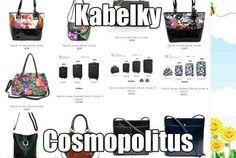 Dámské kabelky, levné kabelky, černé kabelky, bílé a barevné. Výprodej a akce http://www.cosmopolitus.com/damske-kabelky-c-118.html  #kabelky #damske #handbags #cheap #sales #fashion #cerne #bile