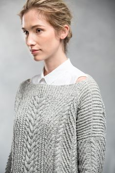 Ravelry: Ondawa by Michele Wang Brooklyn Tweed, Work Flats, Knitting Patterns, Knitting Ideas, Knitting Charts, Knitting Stitches, Lana, Knit Crochet, Knitwear