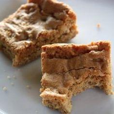 Blonde Brownies V Allrecipes.com