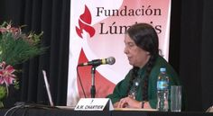 """Anne Marie Chartier Conferencia """"Entre la esperanza y el temor: la incertidumbre de los educadores ante la evolución de la lectura"""""""
