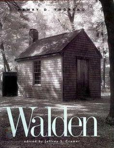 Henry David Thoreau. Walden. Re-examine your life.