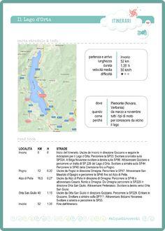 #aiquattroventi - L'itinerario in moto del lago d'Orta (Piemonte, Italia)
