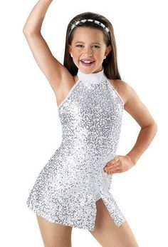 Ice skating dress Competition Figure Skating Baton Twirling Costume Adult child #Unbranded